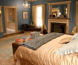 gossip girl, room, and bedroom image