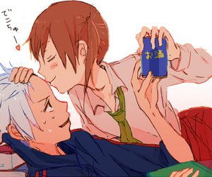 soul eater, anime, and couple image