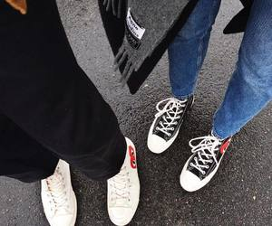 cdg, shoes, and comme des garcons image