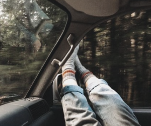 tumblr, car, and travel image