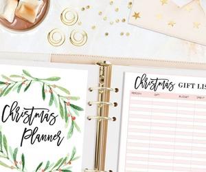 peonies, christmas gif, and hot chocolate image