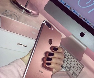 fashion, iphone, and pink image
