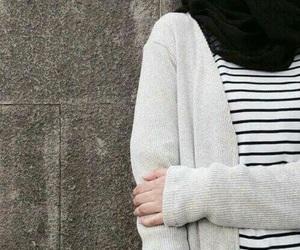 hijab, islam, and black image