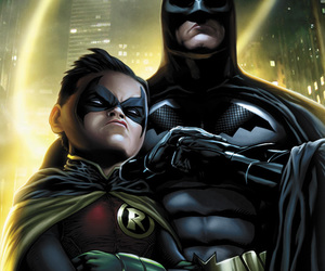 art, Batman and Robin, and drawing image