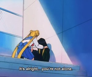 aesthetic, alone, and anime image