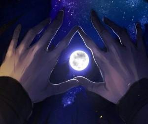 moon, moonlight, and wallpaper image