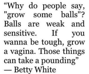 balls, funny, and vagina image