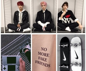 aesthetic, Collage, and kpop image