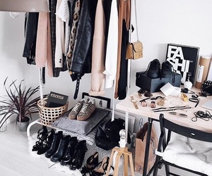 shoes, clothes, and accessories image
