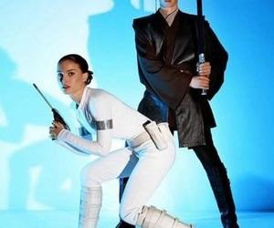 Anakin Skywalker, hayden christensen, and natalie portman image