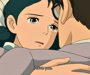 I Love You, studio ghibli, and the wind rises image
