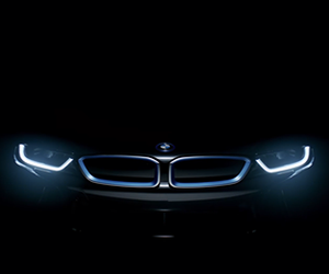 bmw, dark, and front image