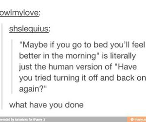bed, funny, and humor image