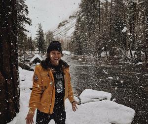 jc caylen and snow image