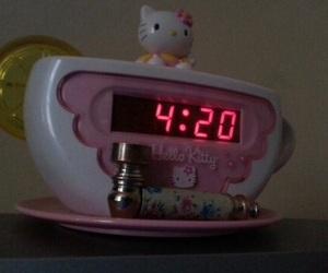 420, aesthetic, and hello kitty image