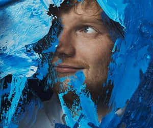ed sheeran, blue, and ed image