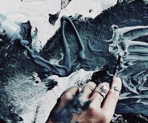 art, vogue, and blue image