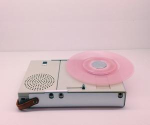 pink, grunge, and music image