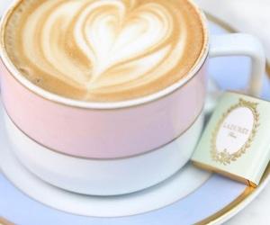breakfast, coffee, and laduree image
