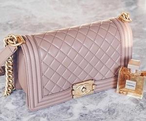 bag, chanel, and perfume image