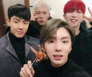 kpop, wonho, and jooheon image