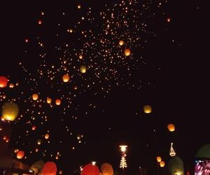 happy, lantern, and magic image
