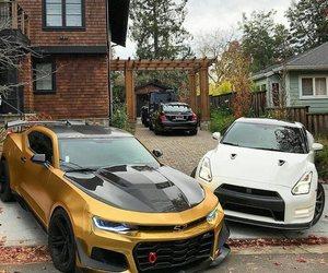 camaro, chevrolet, and Chevrolet Camaro image