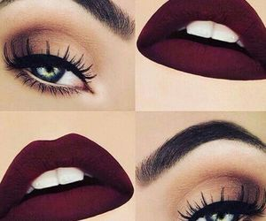 eyes, lévre, and lips image