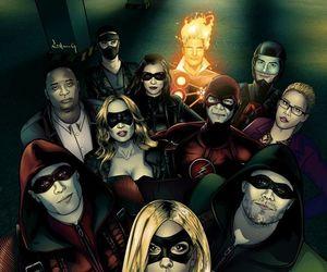 arrow, the flash, and flash image