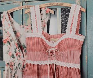 vintage, dress, and clothes image