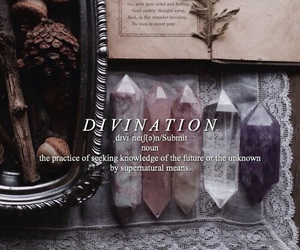 divination, magic, and ravenclaw image