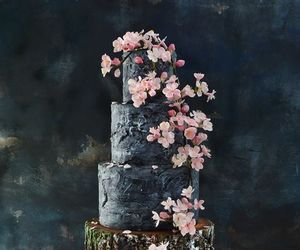 bridal, cake, and pretty image