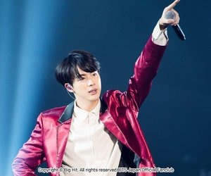 jin, beyond the scene, and kpop image