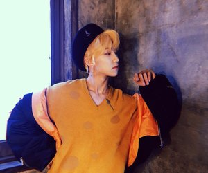 handsome, Seventeen, and minghao image