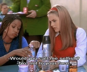 Clueless, movie, and funny image