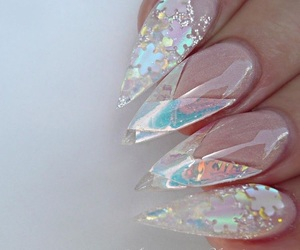 nails and pretty nails image