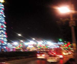 aesthetic, blurry, and christmas image