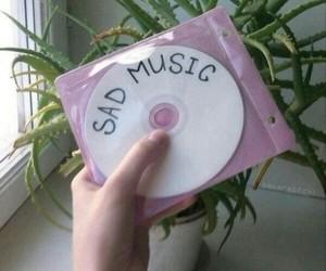 music, sad, and tumblr image