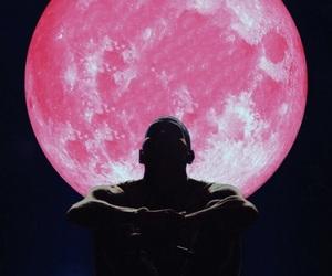 album, artist, and moon image