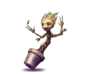 wallpaper, groot, and guardiansofthegalaxy image