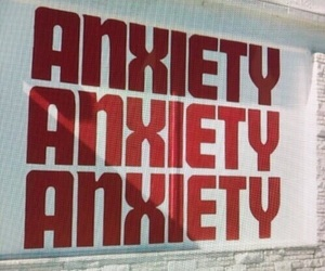 aesthetic, anxiety, and wall image