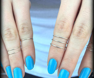 accessories, fashion, and knuckle rings image