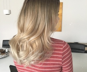 blond, blonde, and brown image