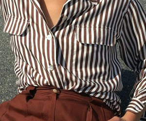 blouse, button, and chic image