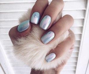 nails, manicure, and beautiful image