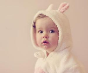baby, cute, and bunny image