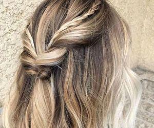 beauty, braids, and bob image