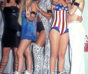 spice girls, 90s, and music image