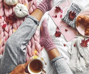autumn, cozy, and style image
