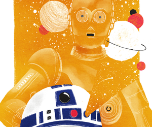 C-3PO, droids, and iconic image